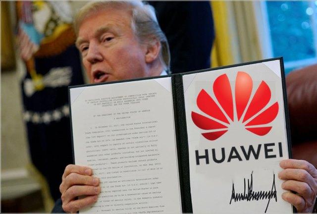 Трамп на год продлил санкции против Huawei