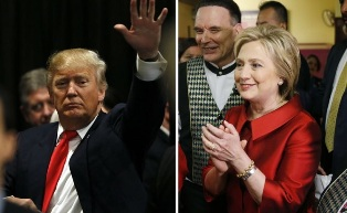 Дональд Трамп vs Хилари Клинтон