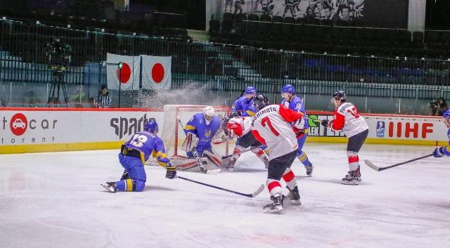ЧМ по хоккею: Украина минимально проиграла Японии