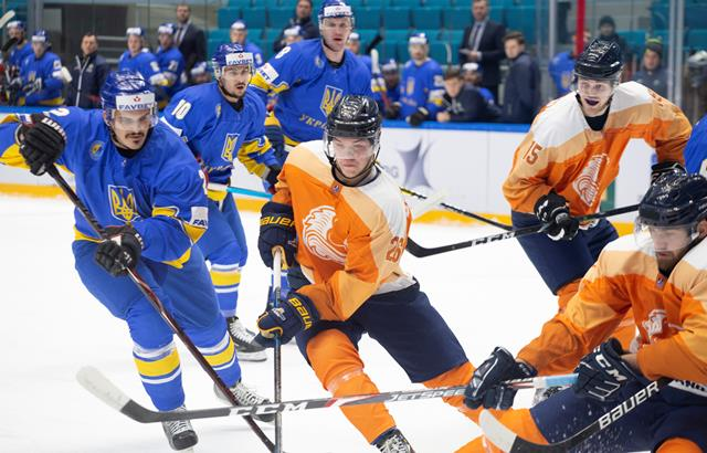 Хоккей на ОИ-2022: Украина обыграла Нидерланды в утешительном матче квалификации