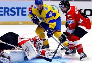 Украина проиграла Австрии в первом туре Чемпионата мира по хоккею