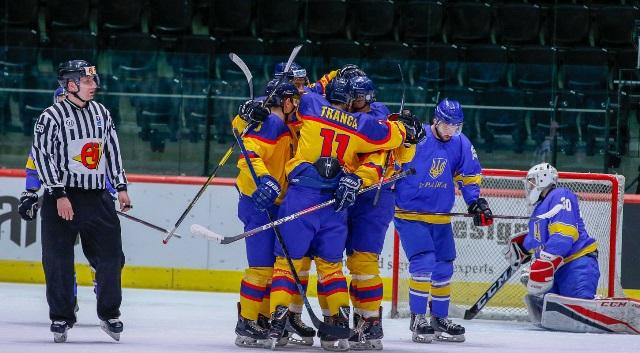 ЧМ по хоккею: Украина впервые в истории проиграла Румынии