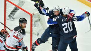 ЧМ по хоккею: США побеждает Канаду, Россия разгромила Францию
