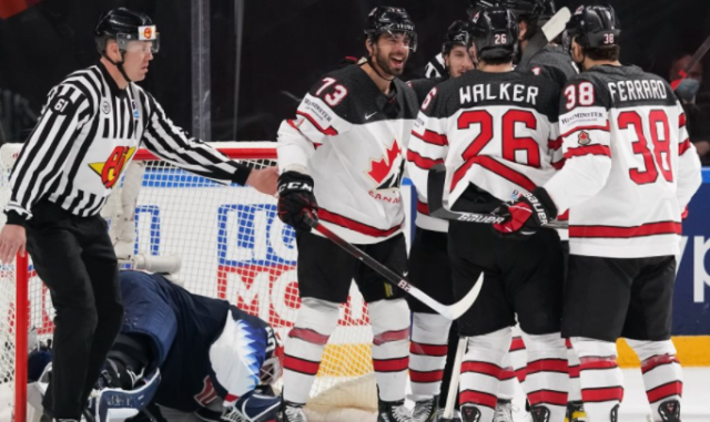 ЧМ по хоккею: Канада обыграла США и вышла в финал