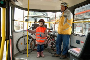 В Киеве планируют разрешить перевозку велосипедов в общественном транспорте