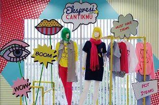 Магазин одежды: свежие идеи декорирования витрин