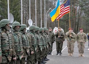 Военные США на Донбассе