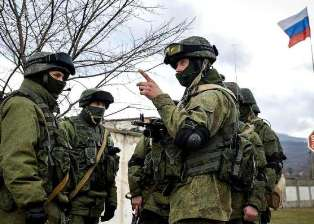 Российские военные в Украине