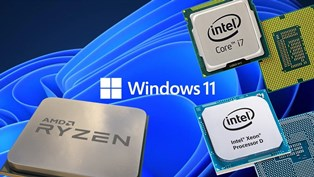 Большинство процессоров Intel Core 7 поколения и AMD Ryzen 1 поколения несовместимы c Windows 11