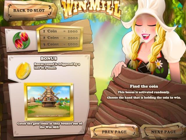 Поиск сокровищ на мельнице: обзор игры Win Mill