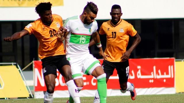 Замбия - Алжир