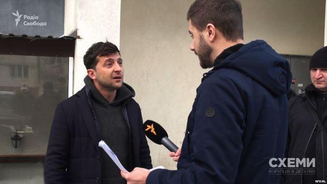 Схемы раскрыли странных спонсоров избирательной кампании Зеленского