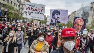 В Праге протестовали против пророссийского президента Чехии